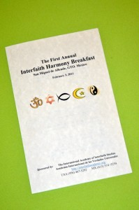 First annual Harmony Breakfast